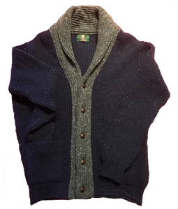 Ivy Collection Shawl Collar Cardigan Sweatert