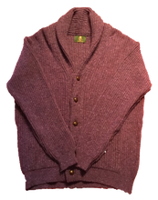 Load image into Gallery viewer, Ivy Collection Shawl Collar Cardigan Sweatert