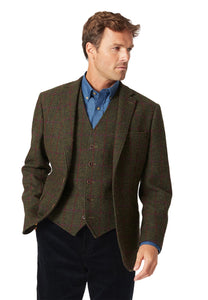 "Harris Tweed ""Tory"" Jacket Classic Fit"