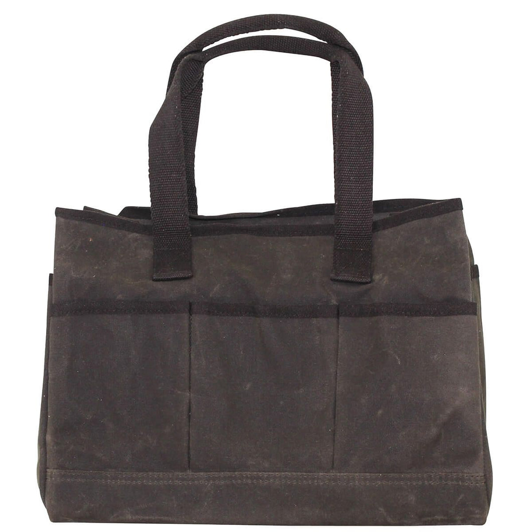 Waxed Cotton Utility Tote