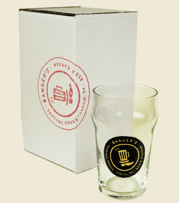 10OZ NONIC GLASS