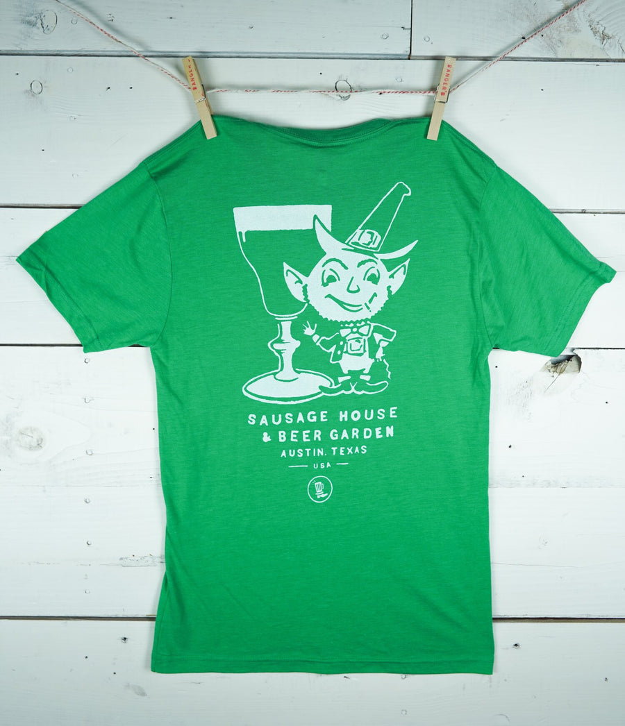 GREEN LEPRECHAUN T-SHIRT (LIMITED EDITION)