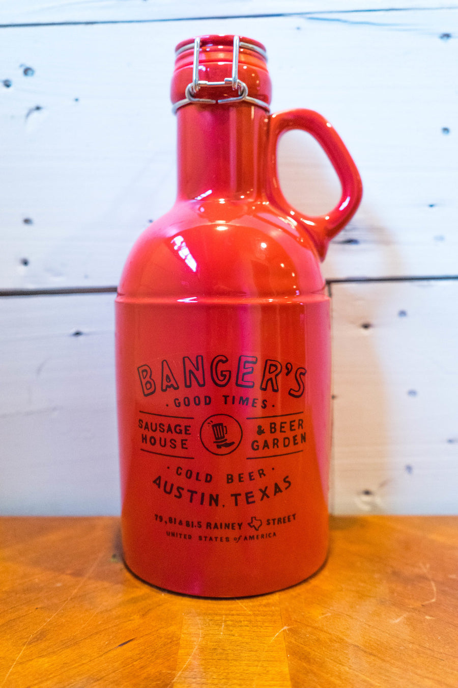 BANGER'S GROWLERS - RED/BLACK
