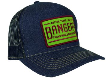 6-PANEL NET BACK TRUCKER HAT (LIMITED EDITION) Green & Maroon