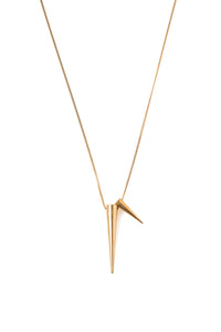 Two Spike Necklace