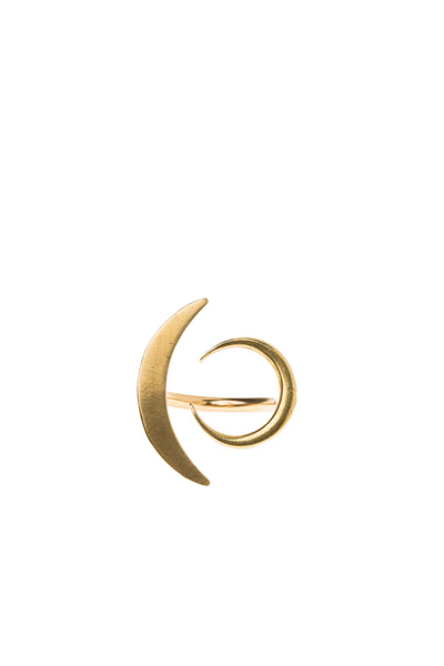 Crescent Phases Ring