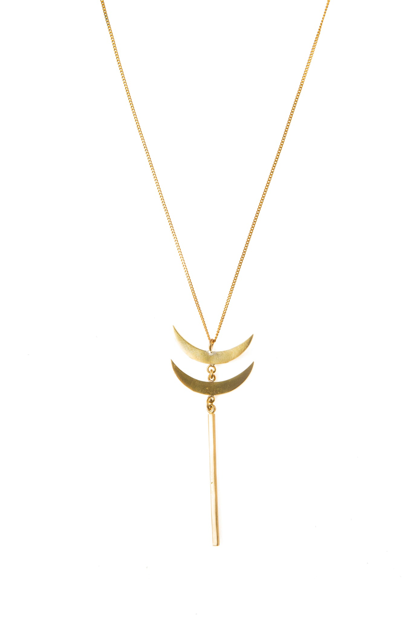 Moon Staff Necklace