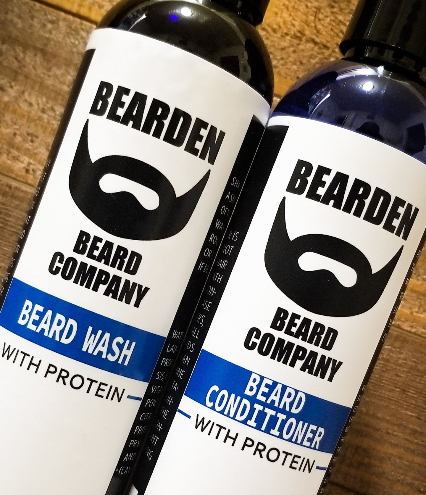 Beard Wash and Beard Conditioner