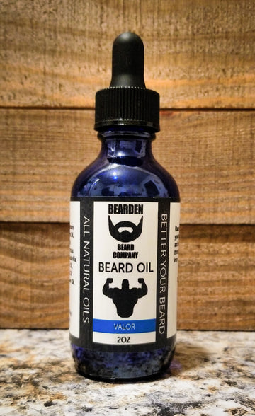 Bearden Beard Co all natural Valor Beard Oil