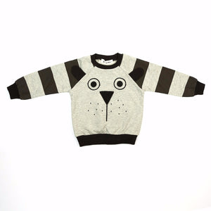 Little Who- Long Sleeve Pup Face Crew Neck