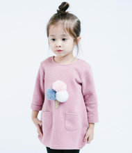 Load image into Gallery viewer, Little Who: Puff Ball Ice Cream Tunic