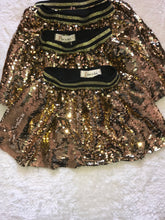 Load image into Gallery viewer, Doe A Dear Sequin Gold Skirt