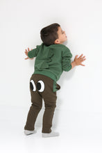 Load image into Gallery viewer, Little Who- Crew Neck Sweater w/Eyes & 3D Tail