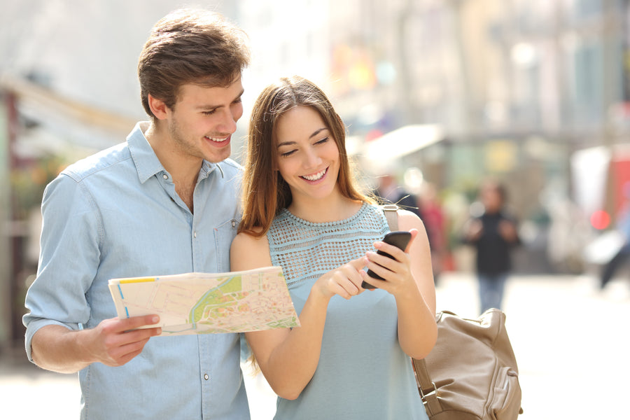 How to find your way around any city