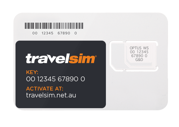 TravelSIM card
