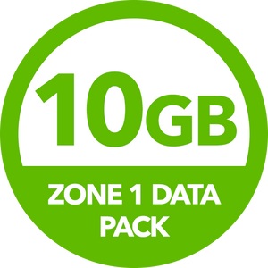 10GB Zone 1 Data Pack - Recharge