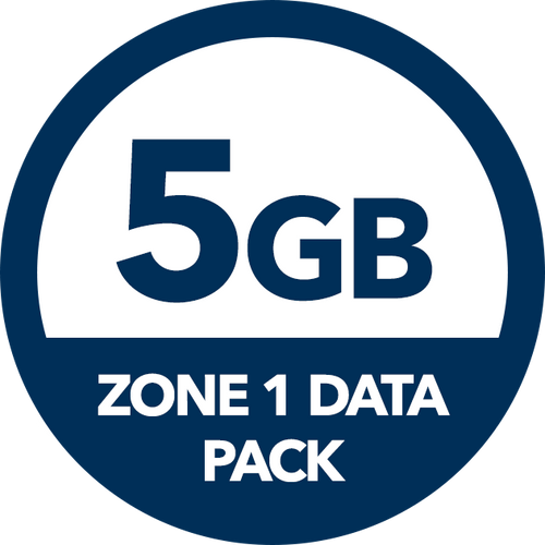 5GB Zone 1 Data Pack - Recharge