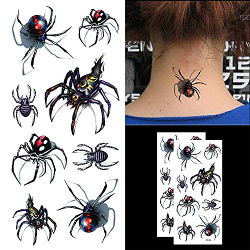 Kamisco: Art: Black Widow Spider Tattoo