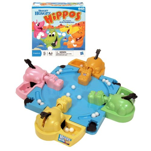 Kamisco: Games: Hungry Hungry Hippos
