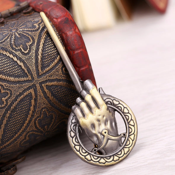 A Mão do Rei - Gelo e Fogo: Broche Game of Thrones