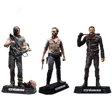 Action Figure Scala 1:6 The Walking Dead - Rick, Daryl, Negan