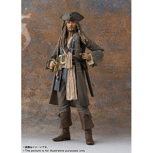 Action Figure Jack Sparrow - Piratas do Caribe