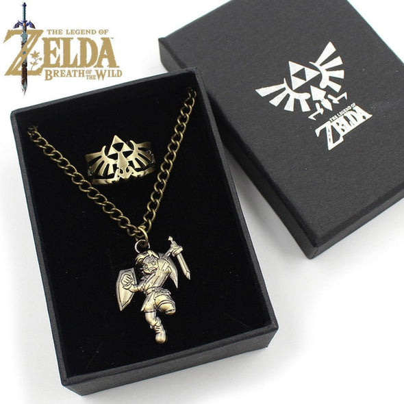 Colar The Legend of Zelda - 4 Tipos