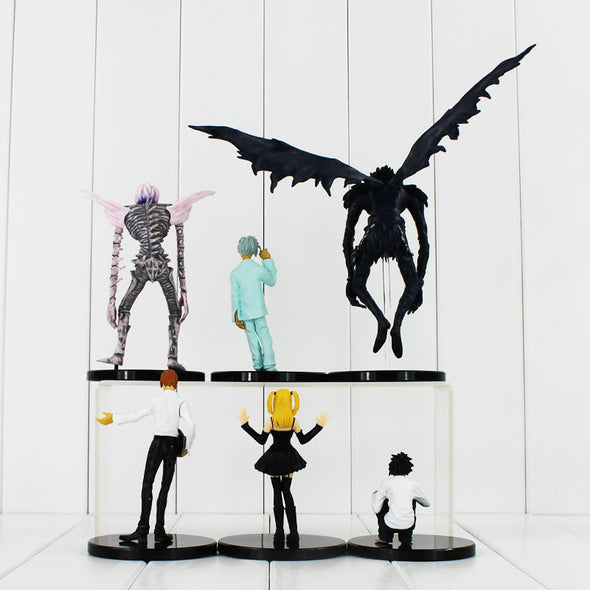 Kit Action Figure Death Note - 6 peças