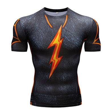 T-Shirt 3D The Flash - 4 Tipos