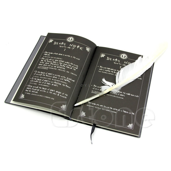 Agenda Death Note + Caneta de Pena Cosplay