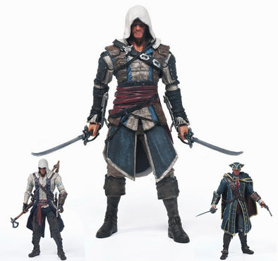 Action Figure Assassin's Creed - 3 Personagens