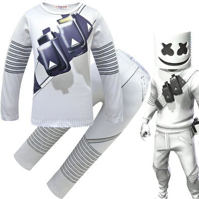 Fantasia Cosplay Skin Marshmello - Fortnite