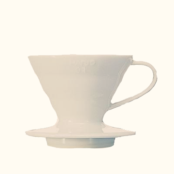 V60 Coffee Dripper / White