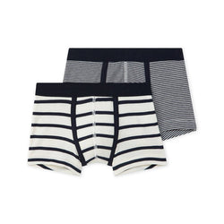 2 Pack Boxers - Black and White