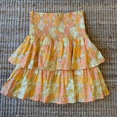 Davey Skirt - 70's Floral