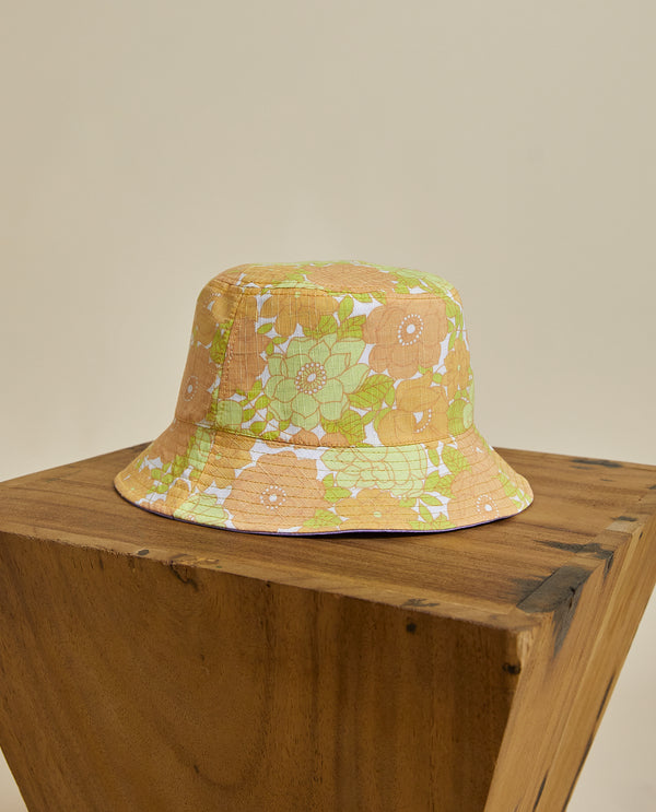 Perry Reversible Hat - 70's Floral
