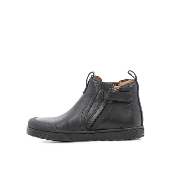 Leather Jodzip Sneaker Boot