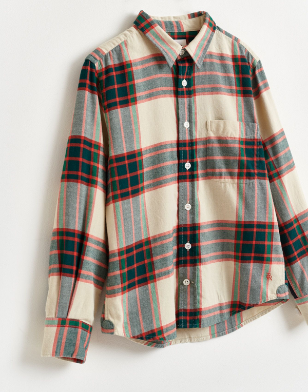 GASPAR Plaid Shirt - CHECK K