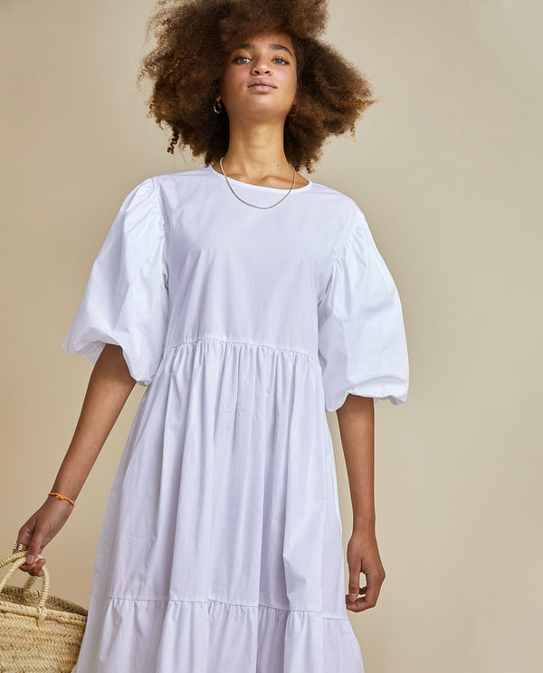 Billie Dress - White