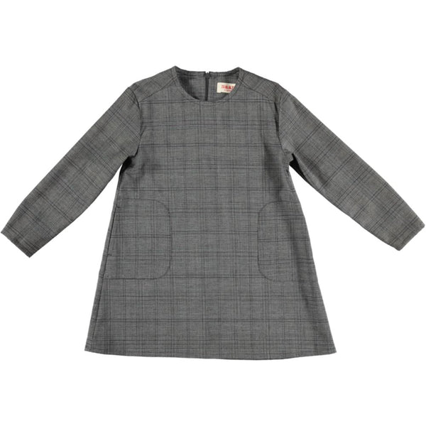 SCULLY Woven Dress - Grey