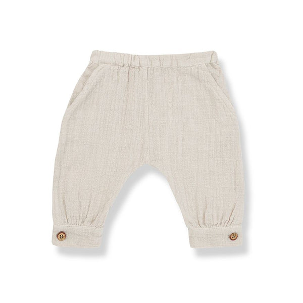 MARGA gathered pants-beige