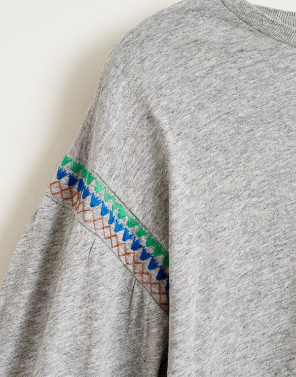 MINIX Embroidered T-SHIRT - Heathered GREY