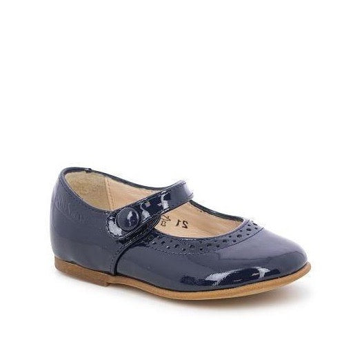 TETEL PERFOS VERNIS Mary-Janes - Navy Patent