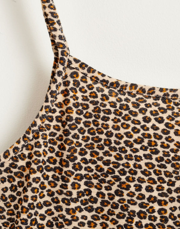 AMIL Tank Top - Cheetah Print