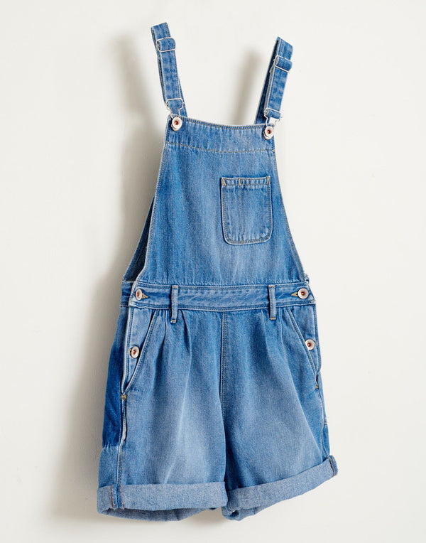 PEPINA Denim OVERALLS - MEDIUM BLEACHED