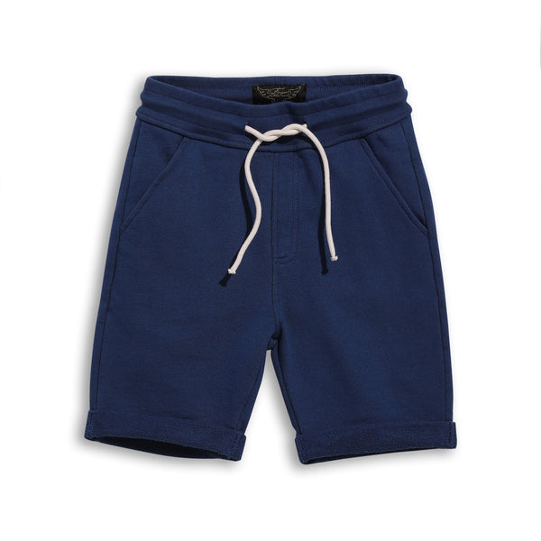 NEW GROUNDED Bermuda Short - Kraft Blue