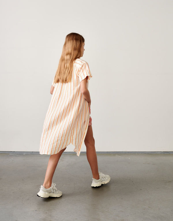 ANGIE Shirt DRESS - STRIPE A