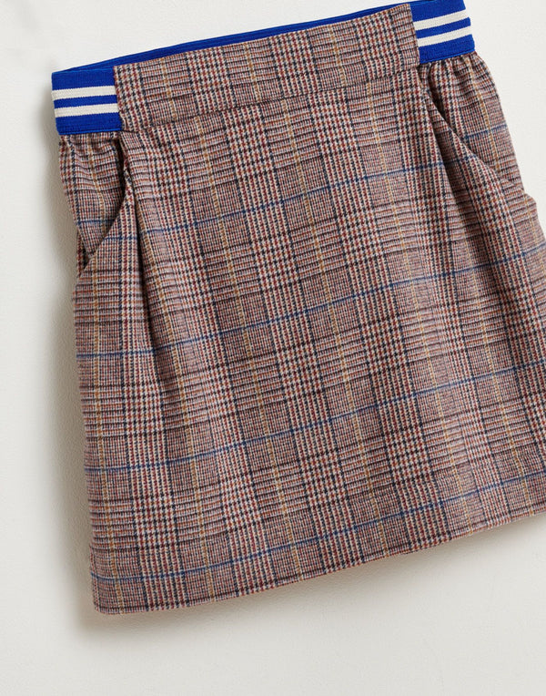 ARCH Checked SKIRT - CHECK B