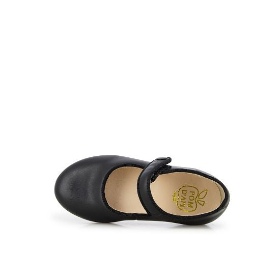 Daisy Baby Leather Mary Janes - Black