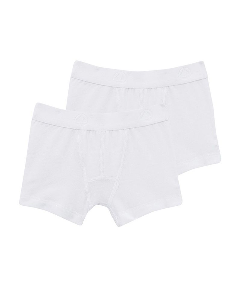 2 Pack of Boxer Shorts - White - 53329